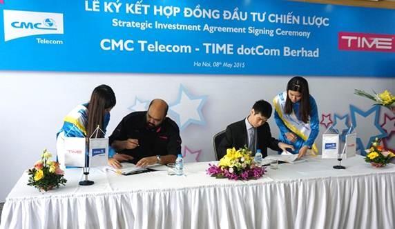 CMC Telecom hợp tác đối tác Malaysia