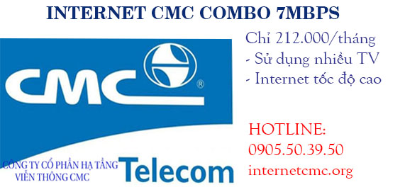 INTERNET CMC COMBO 7 MBPS